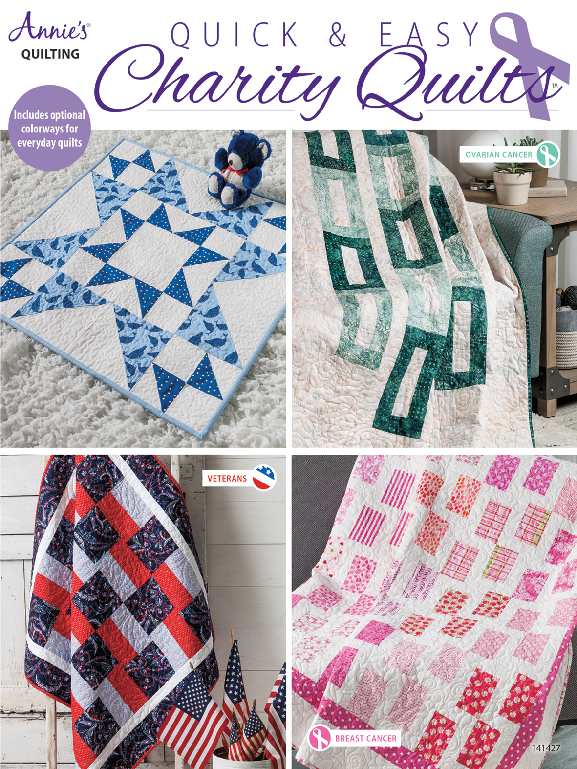 Search Press Quick Easy Charity Quilts By Annie S Quilting