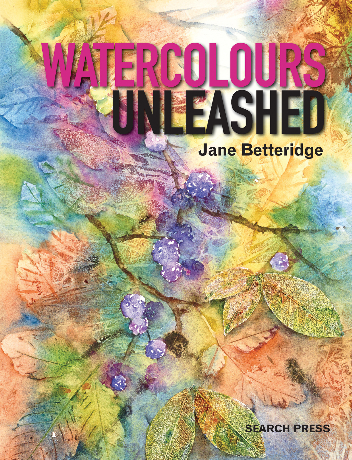 Watercolor books by search press - Download Jacket Image