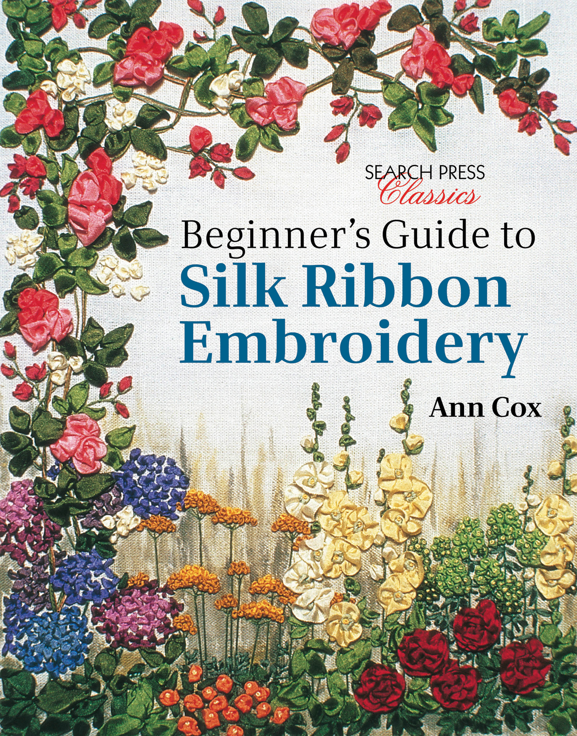 Search press beginner s guide to silk ribbon embroidery
