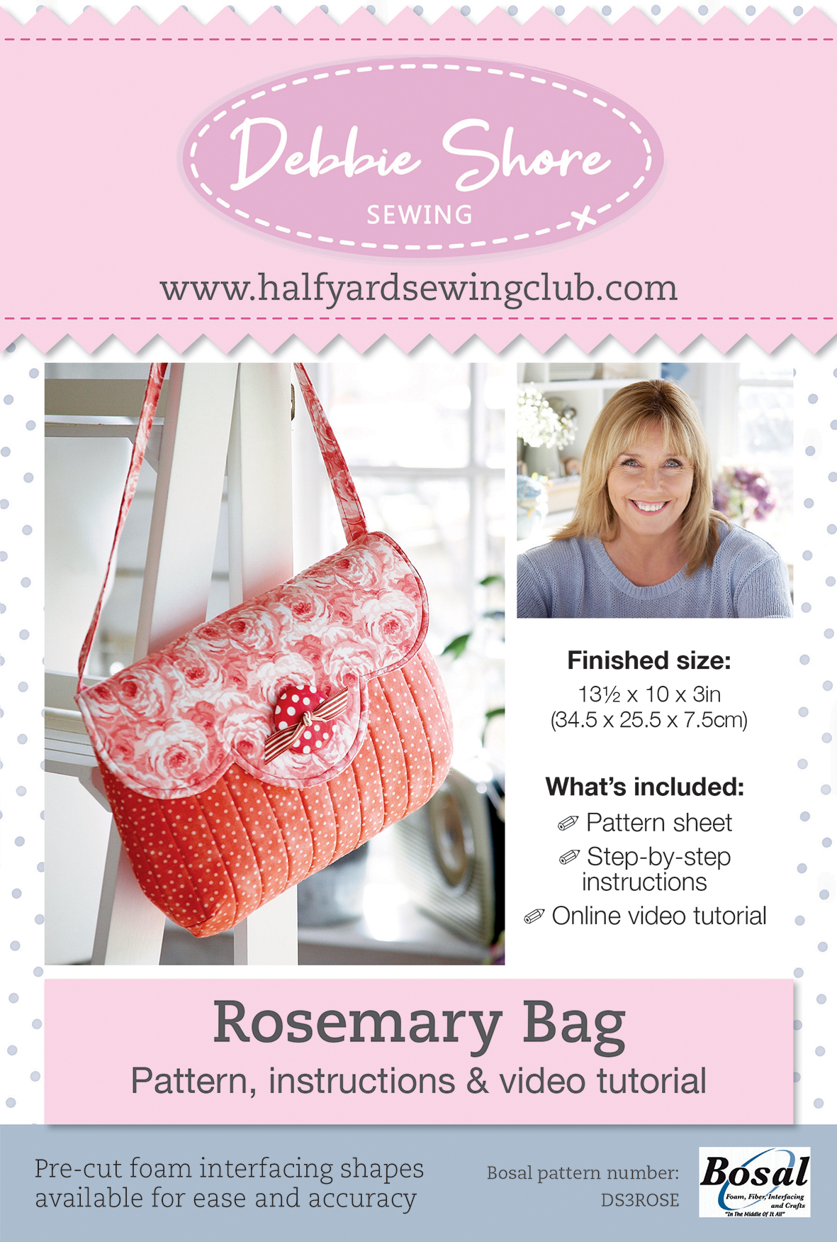 Search Press | Rosemary Bag by Debbie Shore