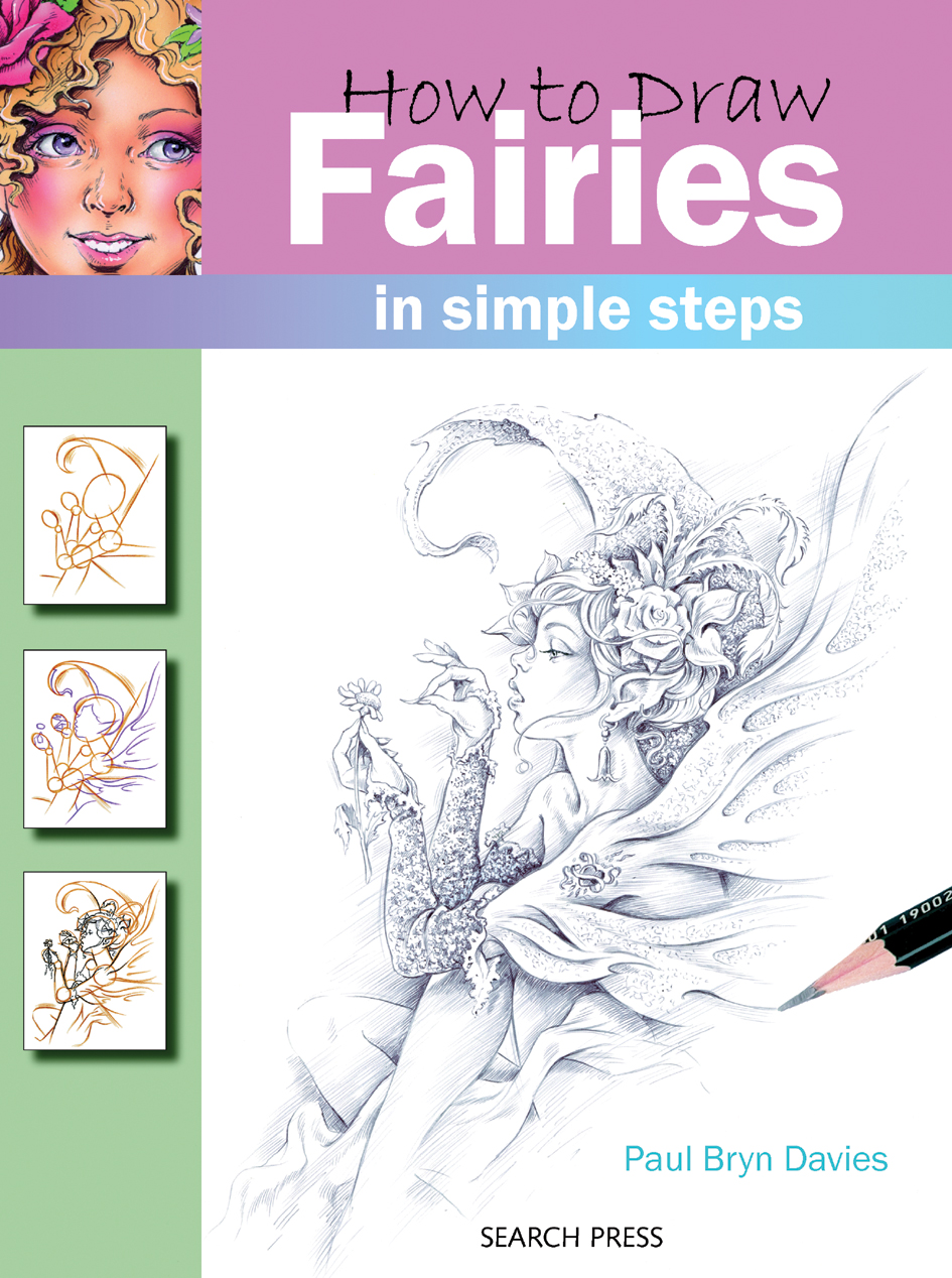 search press how to draw fairies by paul davies