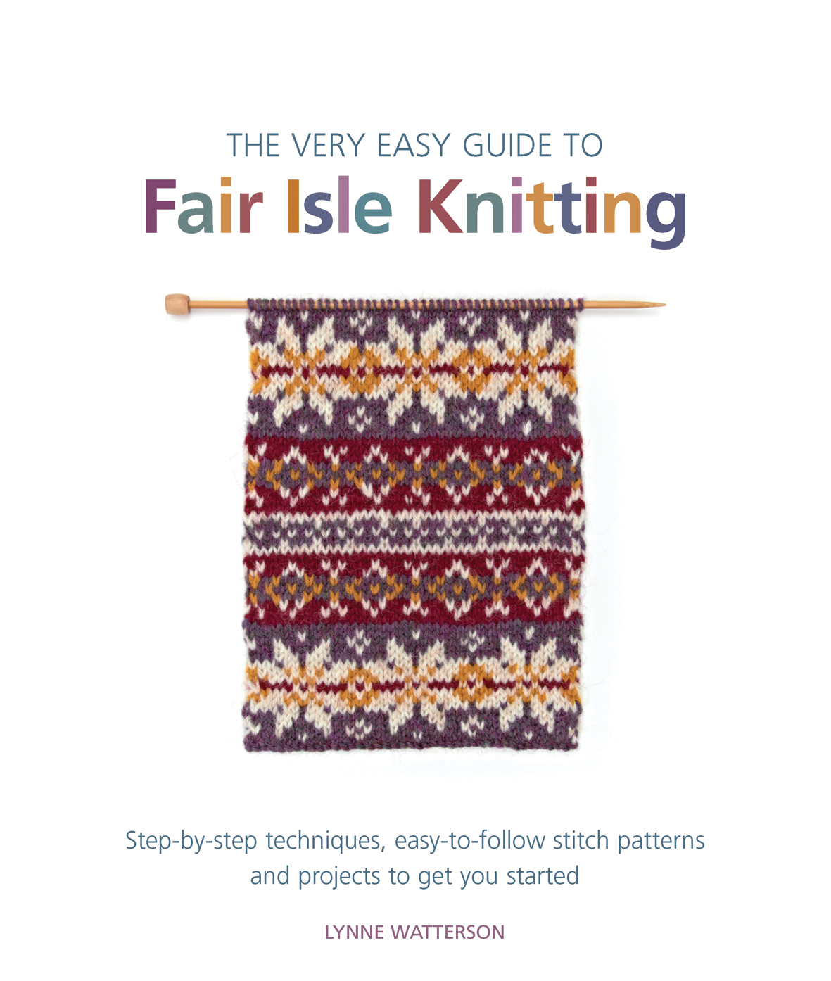 Fair Isle Knitting Books : Search press the very easy guide to fair isle knitting