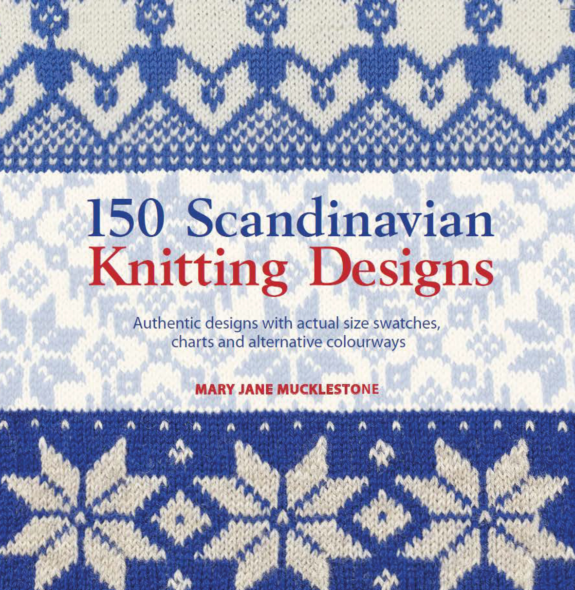 Search Press | 150 Scandinavian Knitting Designs by Mary ...