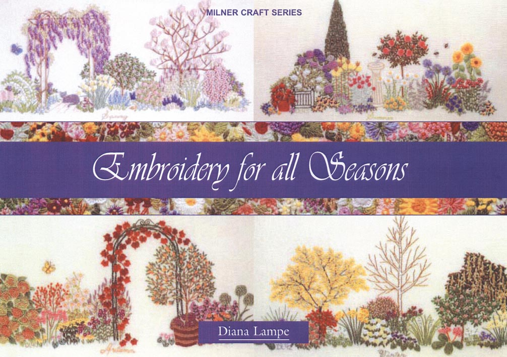 Search press embroidery for all seasons by diana lampe