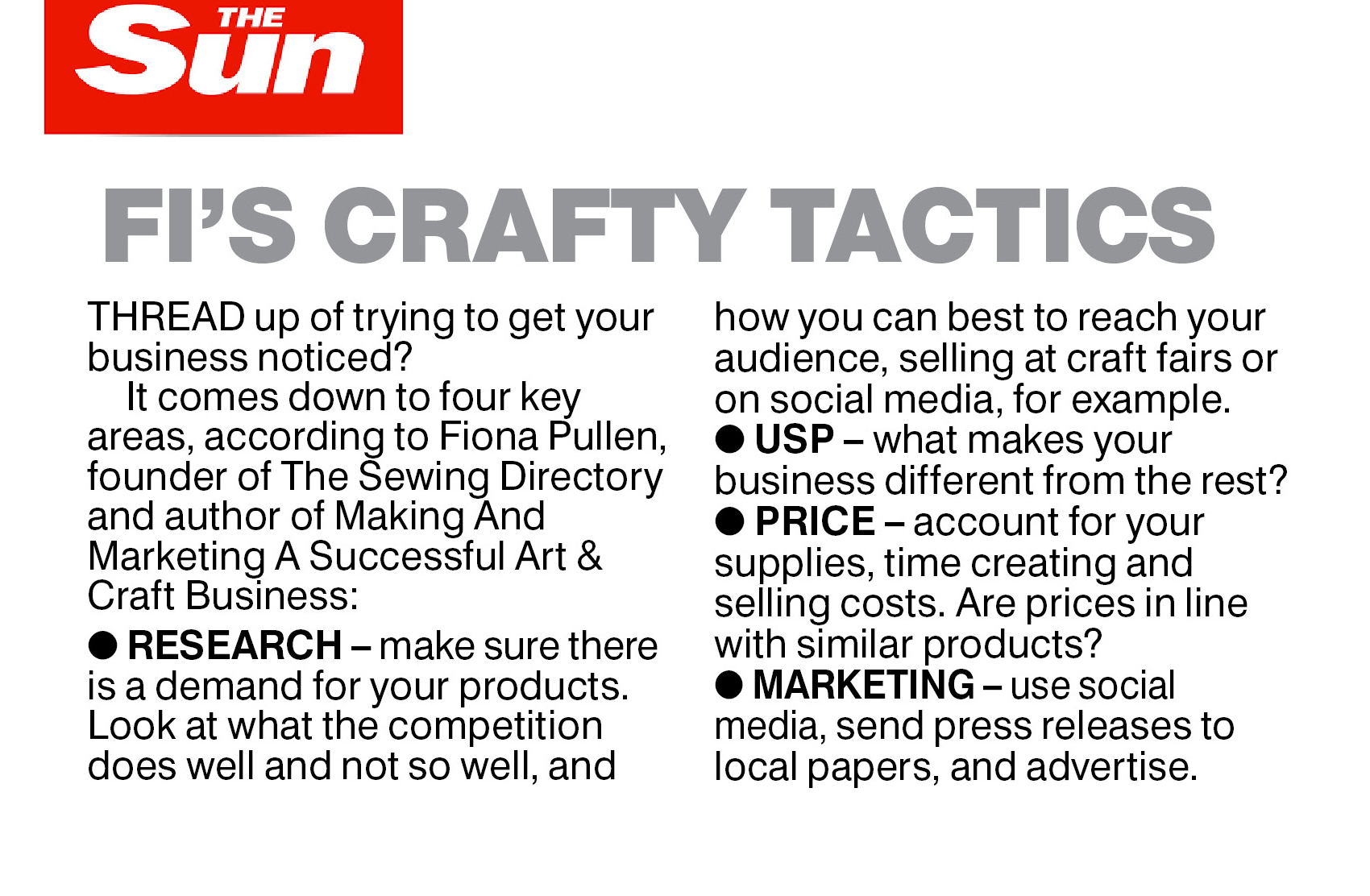 Search Press | Making & Marketing a Successful Art & Craft