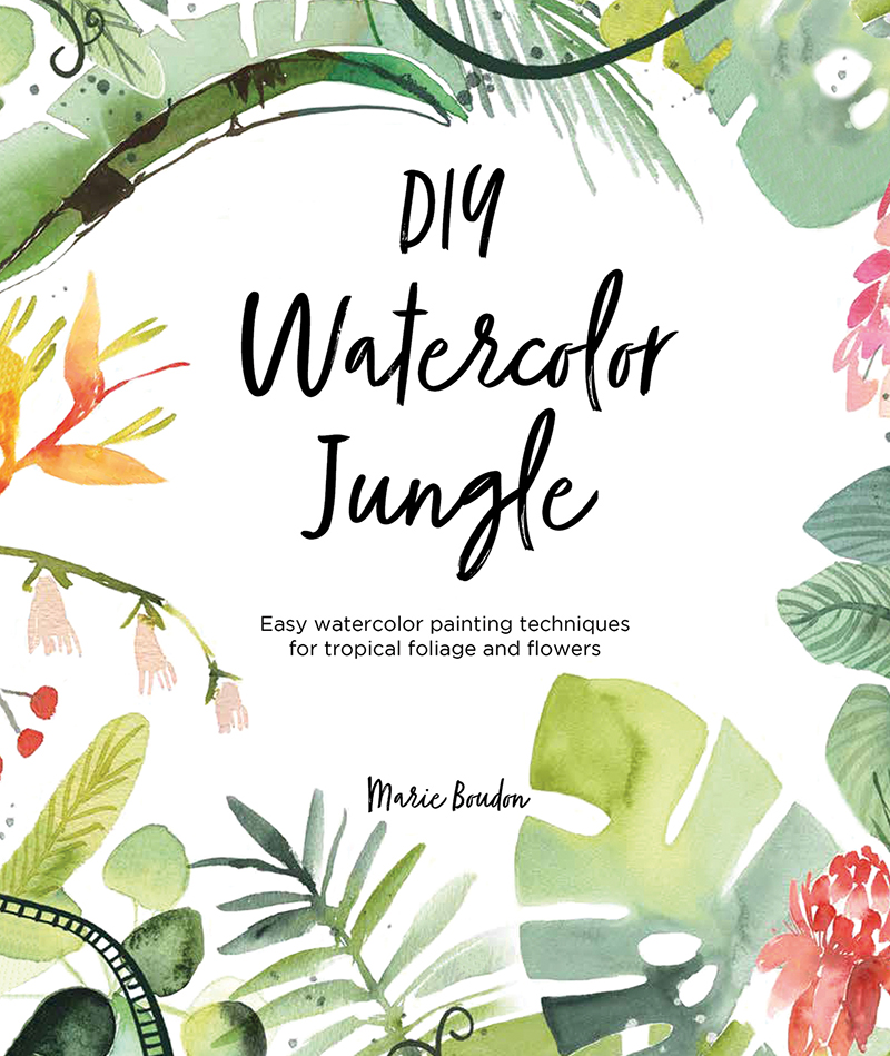 DIY Watercolor Jungle