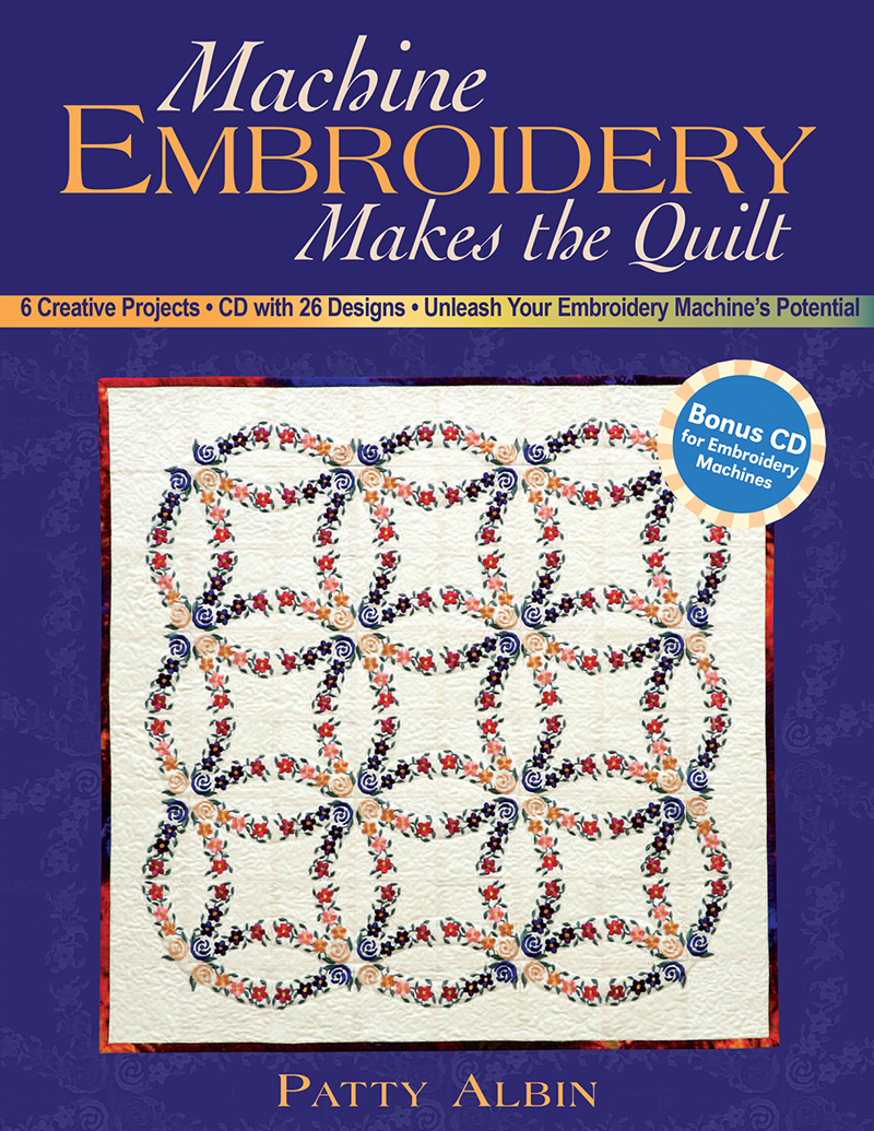 Machine Embroidery Makes The Quilt