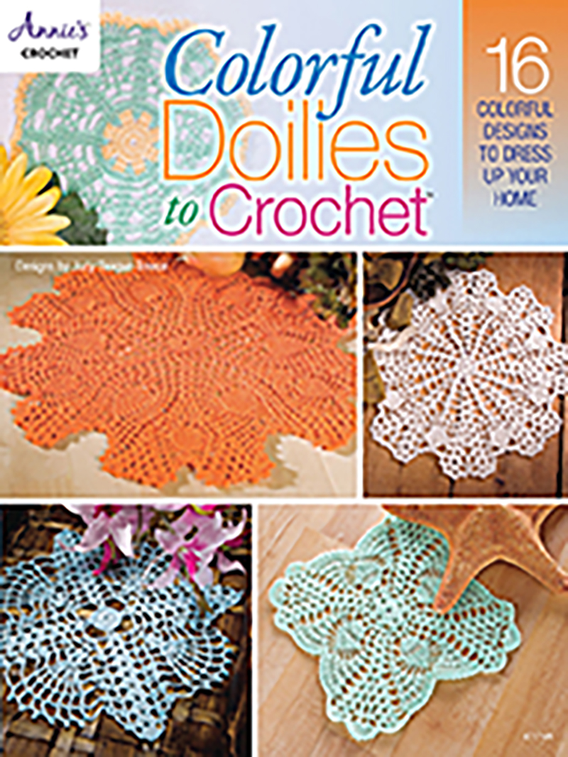 Colorful Doilies to Crochet