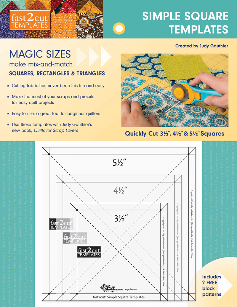 fast2cut® Simple Square Templates