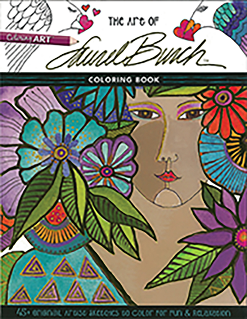 The Art of Laurel Burch Coloring Book