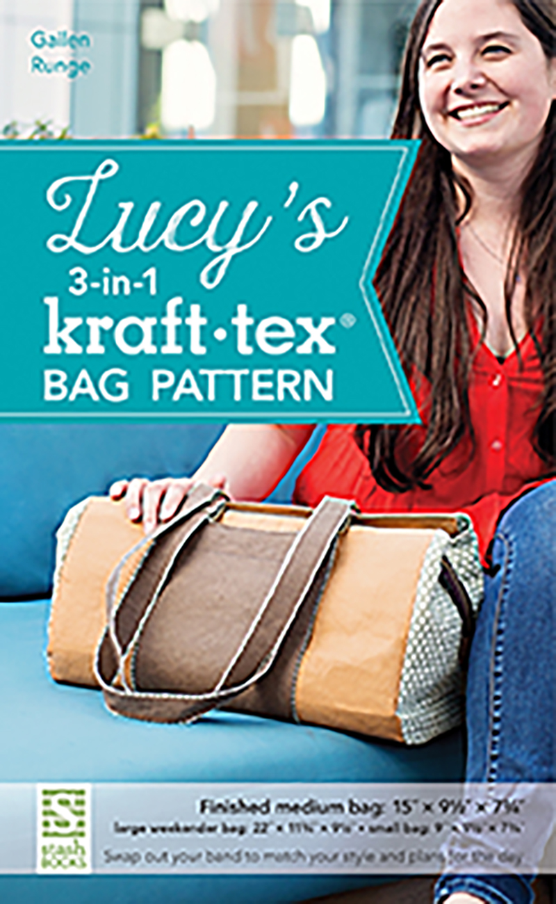 Lucy's 3-in-1 kraft-tex® Bag Pattern