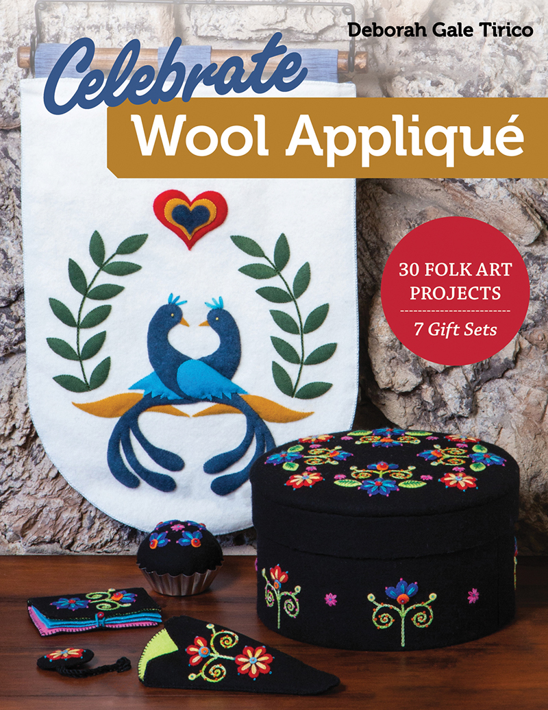 Celebrate Wool Appliqué