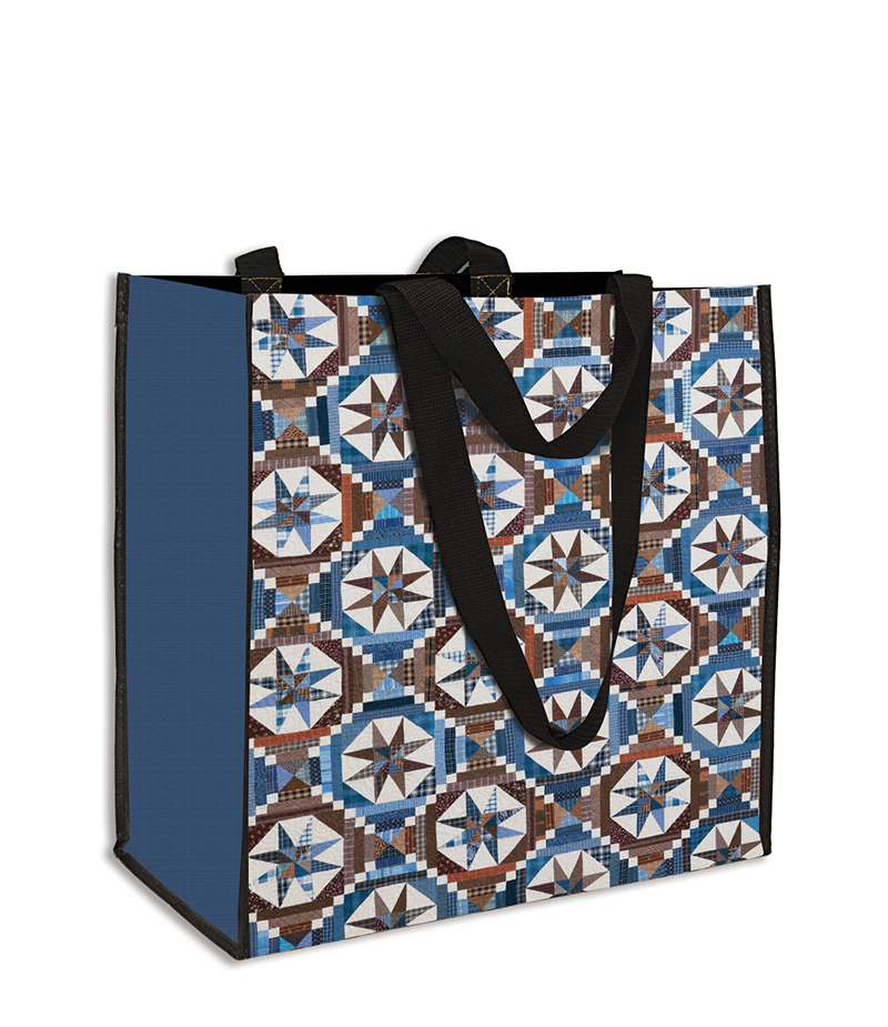 Bonnie Hunter's Smith Mountain Morning Quilt  Eco Tote