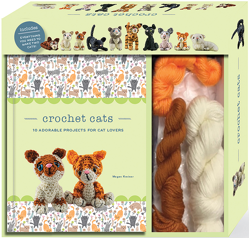 Crochet Cats - Kit