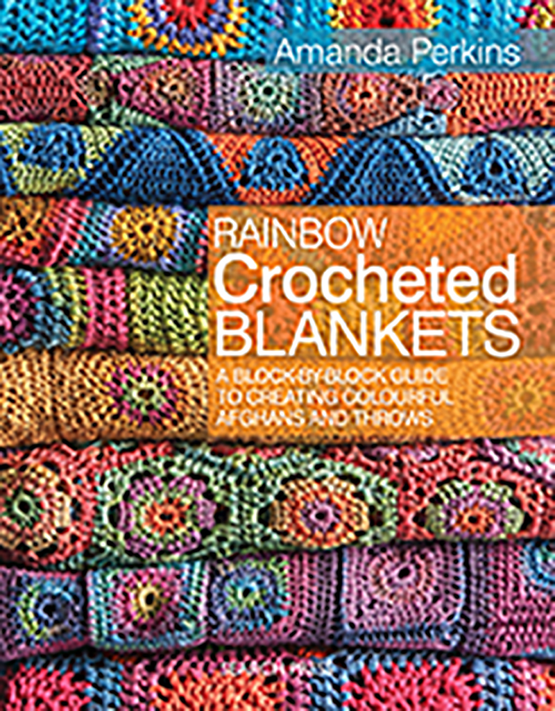 Rainbow Crocheted Blankets