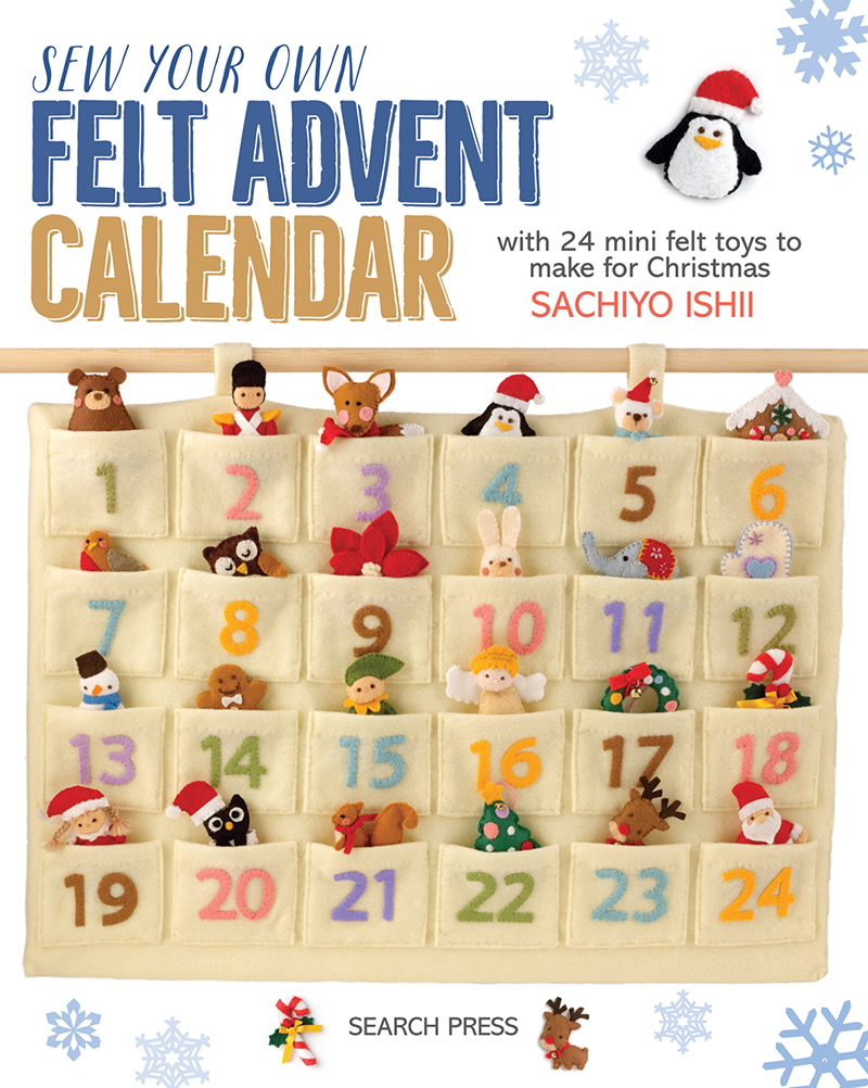 Sew Your Own Felt Advent Calendar