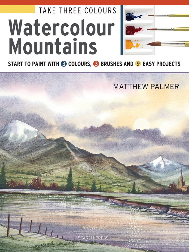 Take Three Colours: Watercolour Mountains