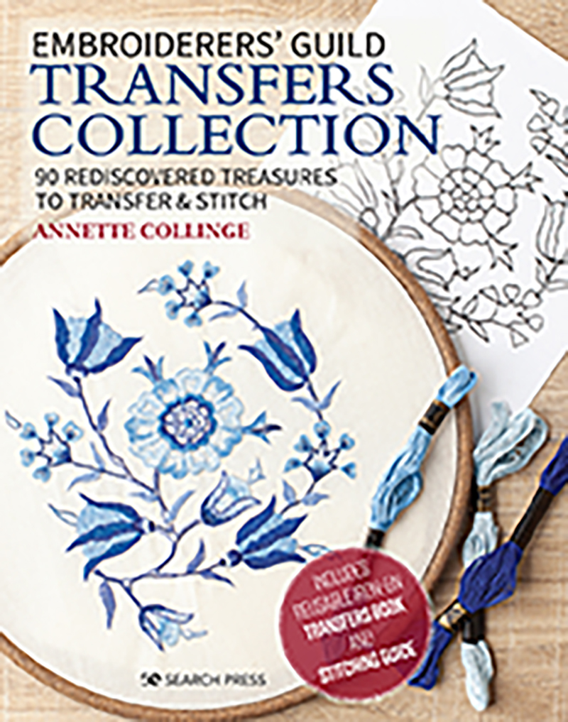 Embroidered Treasures: Transfers