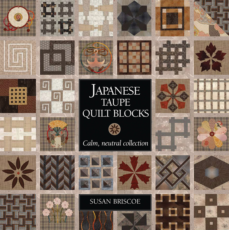 Japanese Taupe Quilt Blocks