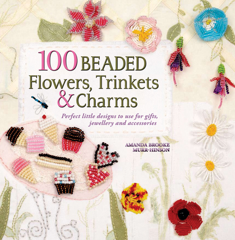 100 Beaded Flowers, Trinkets & Charms