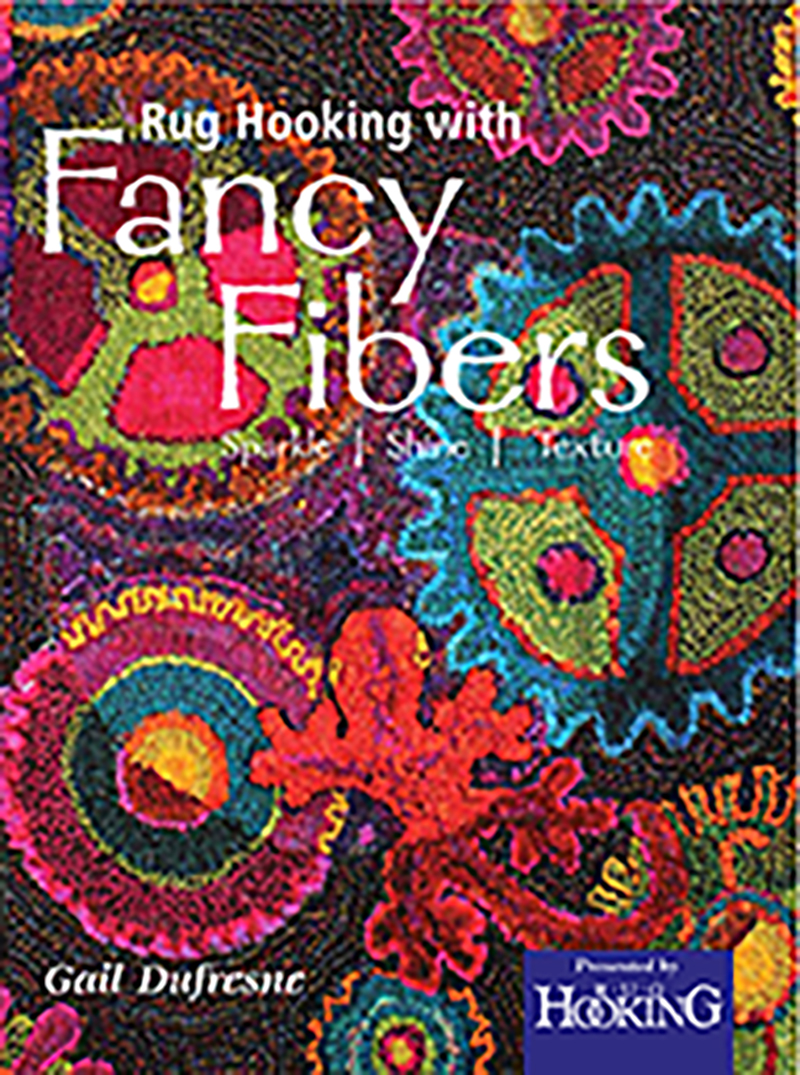 Rug Hooking with Fancy Fibers