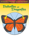 Stained Glass Patterns: Butterflies and Dragonflies
