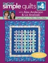 Super Simple Quilts #4 With Alex Anderson & Liz Aneloski