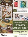 Lesley Riley's Tap Transfer Artist Paper - 18 Sheet Pack