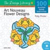 Art Nouveau Flower Designs (DL06)