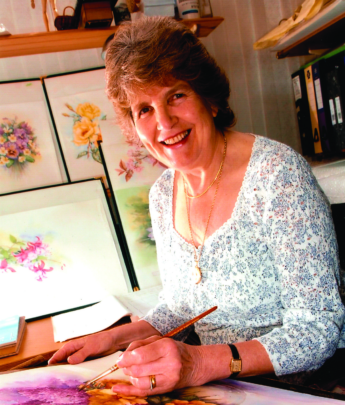 Watercolor books by search press - Meet The Author Wendy Tait