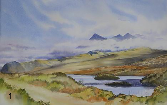The Cuillin from the Dunvegan Road